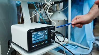 Благодаря помощи нардепов «Відродження» Институт нейрохирургии получил современный хирургический аппарат