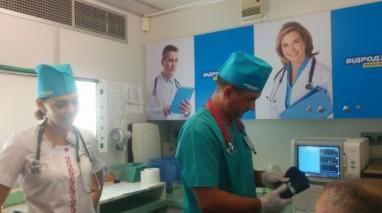 На Днепропетровщине партия «Відродження» запустила медицинский мобильный центр
