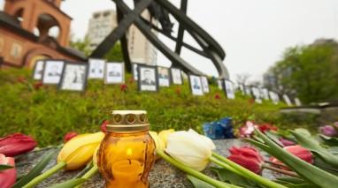 Голова партії «Відродження» вшанував пам'ять жертв аварії на ЧАЕС