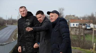 Депутаты Николаевского облсовета от фракции «Відродження» продолжают контролировать ход ремонта моста в Новобугском районе