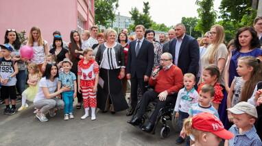 Виталий Хомутынник: В рамках программы «Возрождение Харькова» открыты еще два детских сада