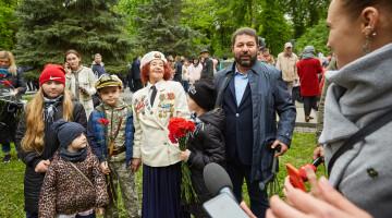 Депутаты «Відродження» приняли участие в торжествах ко Дню Победы