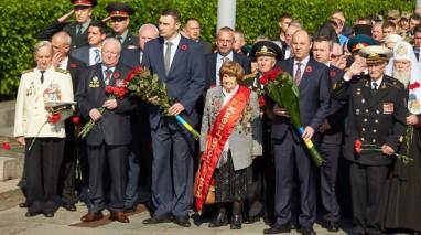 Віктор Бондар вшанував пам'ять загиблих воїнів у Другій світовій війні