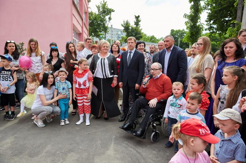 Виталий Хомутынник: В рамках программы «Возрождение Харькова» открыты еще два детских сада (фото)
