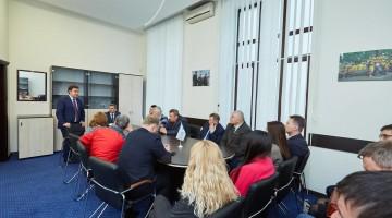У рамках регіонального передвиборчого туру лідер «Відродження» зустрівся із сумськими однопартійцями і соратниками.