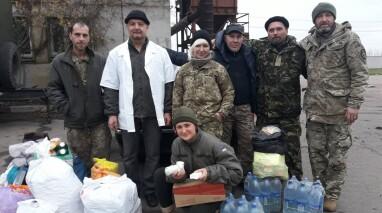 Депутат і волонтер Владислав Кюрчев – частий гість на передовій