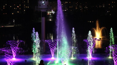 За підтримки Антона Яценка в Умані стартує новий сезон фонтанів «Перлина кохання»