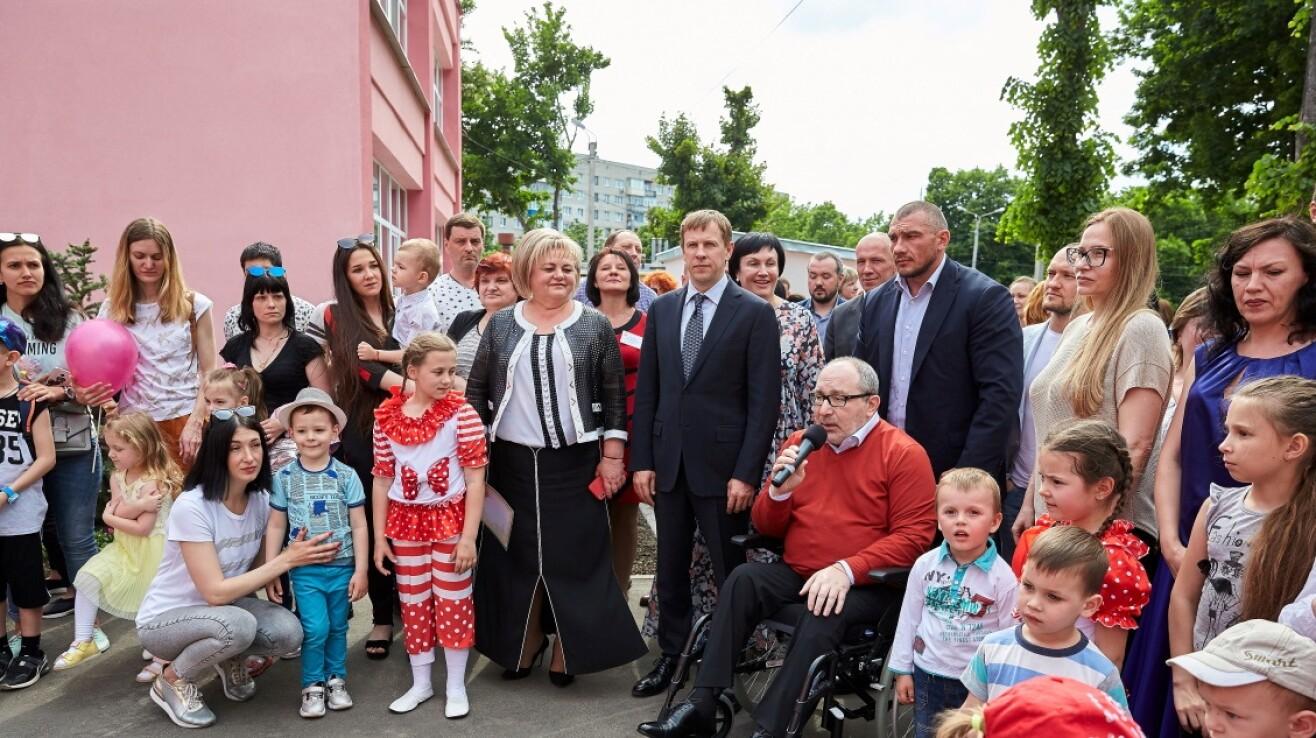 Віталій Хомутиннік: У рамках програми «Відродження Харкова» відкриті ще два дитячі садки
