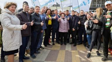 Виктор Бондарь поблагодарил избирателей за поддержку