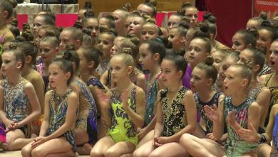 При поддержке Благотворительного Фонда Виталия Хомутынника «Відродження» состоялся турнир по художественной гимнастике
