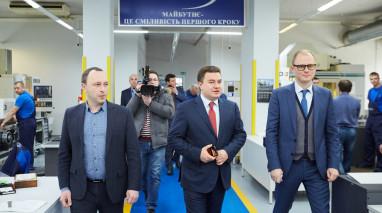 Віктор Бондар на харківському заводі «ФЕД» у рамках предвиборних регіональних поїздок