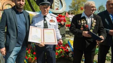 Члени Київської міської організації Партії «Відродження» вшанували пам'ять загиблих від аварії на ЧАЕС