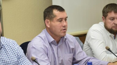 Олег Диденко присоединился к проекту восстановления сгоревшей школы