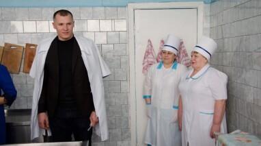 В Баштанке открыли отреставрированный пищевой блок в детском саду №6